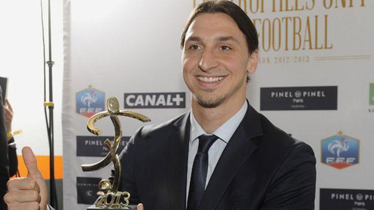 Zlatan Ibrahimovic, meilleur joueur de L1 en 2013