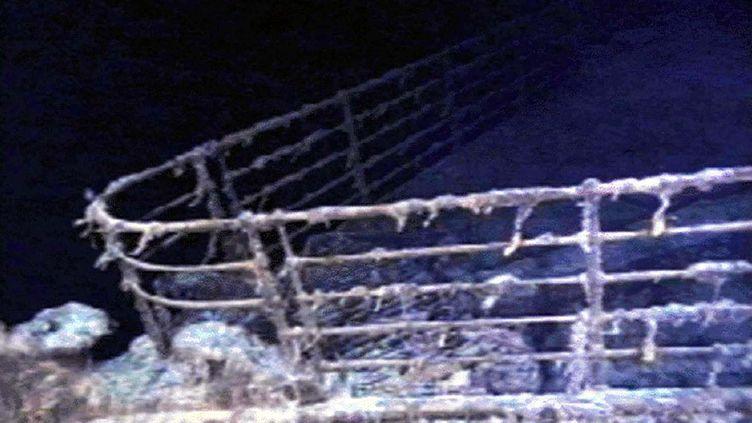 L'épave du Titanic, photographiée lors d'une expédition sous-marine le 10 août 1996. (REUTERS)