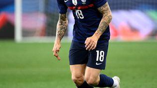 Lucas Digne est titulaire avec l'équipe de France face à la Hongrie (FRANCK FIFE / AFP)