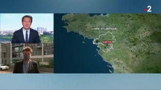 L'enquête sur le viol et le meurtre de l'adolescente dont le corps a été retrouvé la semaine dernière à Nantes s'accélère. Un homme a été placé en garde à vue.  (France 2)