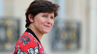 La nouvelle ministre des Sports, Roxana Maracineanu, quitte l'Elysée, le 5 septembre 2018. (MUSTAFA YALCIN / ANADOLU AGENCY / AFP)