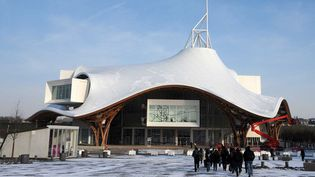 Le Centre Pompidou-Metz (février 2012)  (Pol Emile / SIPA)