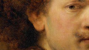 Fragment d'autoportrait de Rembrandt  (DR)