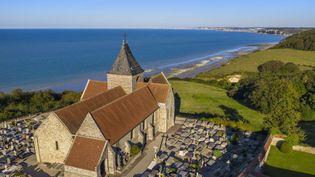 L'église de Varengeville-sur-mer menace de s'effondrer (RIEGER BERTRAND / HEMIS.FR / HEMIS.FR)