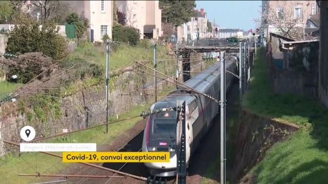 Coronavirus : un convoi exceptionnel en TGV