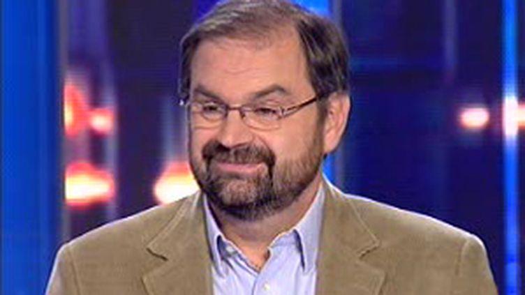 François Chérèque, secrétaire général du CFDT. (France 2)