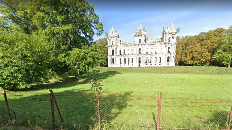 Le château de Mennechet àChiry-Ourscamp (Oise). (GOOGLE STREET VIEW)