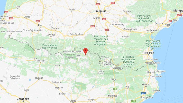 Avecle soleil et les vacances scolaires, les randonneurs étaient nombreuxdans les Pyrénées ce week-end. (GOOGLE MAPS)