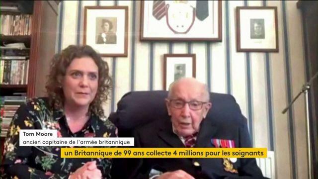 Un Britannique de 99 ans récolte quatre millions