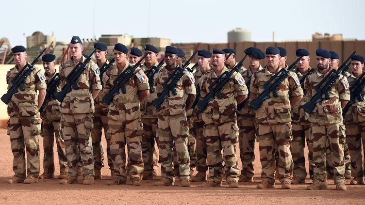 Des soldats français à Gao (Mali), le 2 mai 2016. (BRITTA PEDERSEN / AFP)
