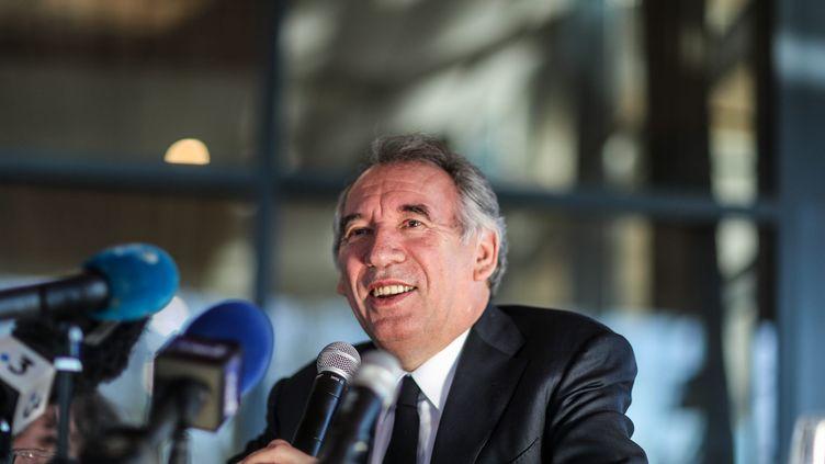 François Bayrou, le 31 janvier 2020 à Pau (Pyrénées-Atlantiques). (LE DEODIC DAVID / MAXPPP)