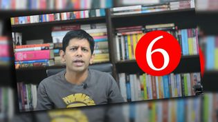 Capture écran de la chaine YouTube d'Akash Banerjee. (CAPTURE ECRAN YOUTUBE)