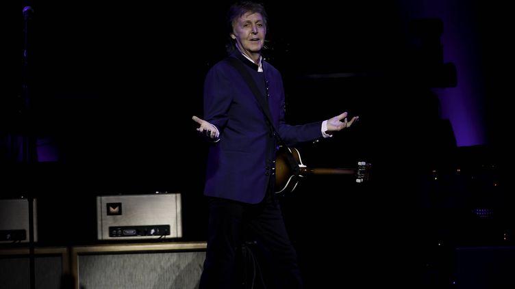 Paul McCartney en concert le 7 juillet 2017 à Miami (RON ELKMAN / USA TODAY NETWORK / SIPA USA)