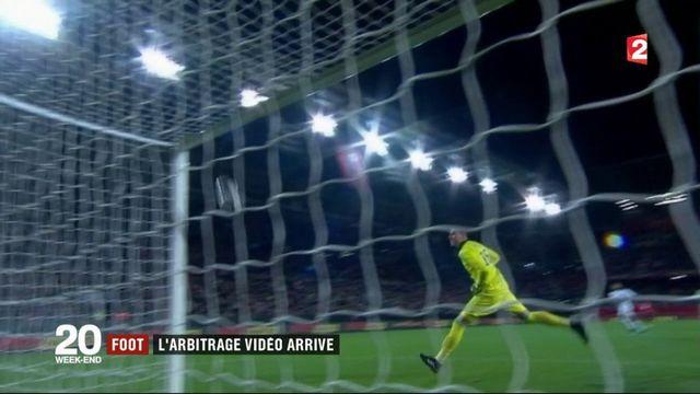 Football : l'arbitrage vidéo arrive en Ligue 1