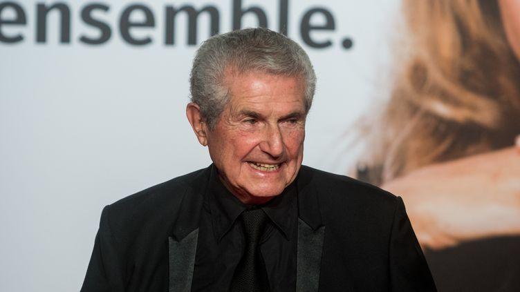 Claude Lelouch, réalisateur, lors de l'ouverture de la 10e édition du Festival des Lumières, à Lyon, le 13 octobre 2018. (NICOLAS LIPONNE / NURPHOTO / AFP)