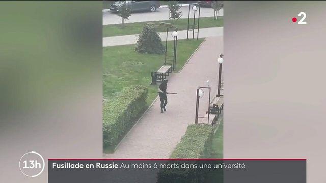 Russie : une fusillade dans une université fait au moins six morts