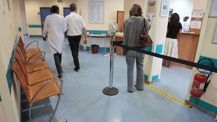 Une patiente à l'Institut Alfred Fournier (Paris), où un nouveau centre de planification et d'éducation familiale a été inauguré, le 27 août 2009. (JACQUES DEMARTHON / AFP)