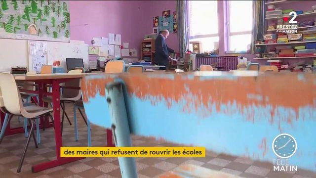 Coronavirus : des maires refusent de rouvrir leurs  écoles