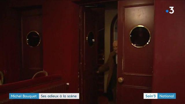 Michel Bouquet : ses adieux à la scène