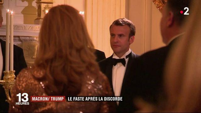 Emmanuel Macron aux États-Unis : le faste après la discorde