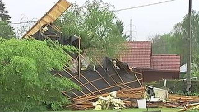 Une mini-tornade s'est abattue sur les Vosges