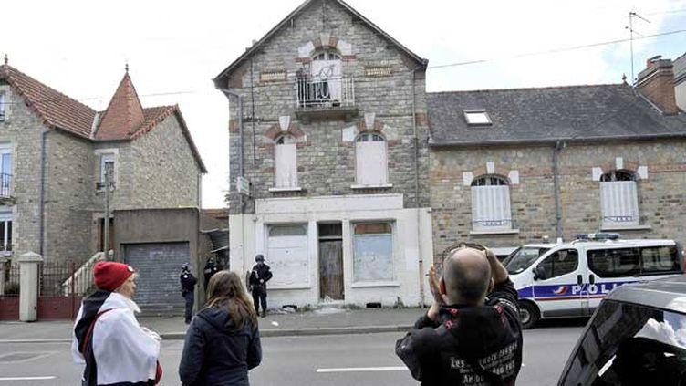 (La maison de Maryvonne Thamin à Rennes © Maxppp)