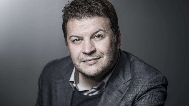 Guillaume Musso sort son 17e roman, L'inconnue de la Seine, ce mardi. (JOEL SAGET / AFP)