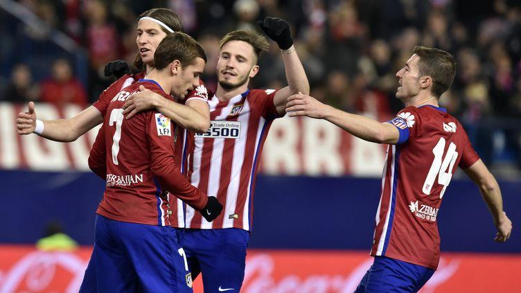 l'Atletico Madrid (GERARD JULIEN / AFP)