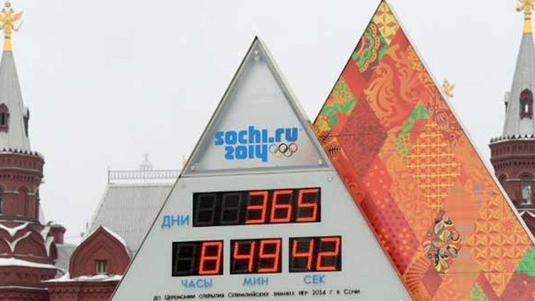 A un an des Jeux olympiques de Sotchi, le compte-a-rebours est lancé à Moscou