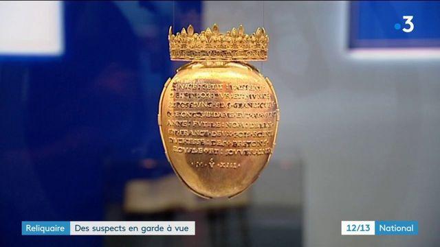 Vol du reliquaire d'Anne de Bretagne : des suspects en garde à vue
