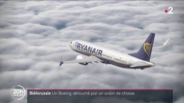 Biélorussie : un Boeing détourné avec un opposant politique à son bord