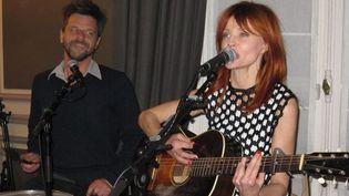 Axelle Red en show case le 11 décembre 2012 à l'ambassade de Belgique à Paris  (Corinne Jeammet)