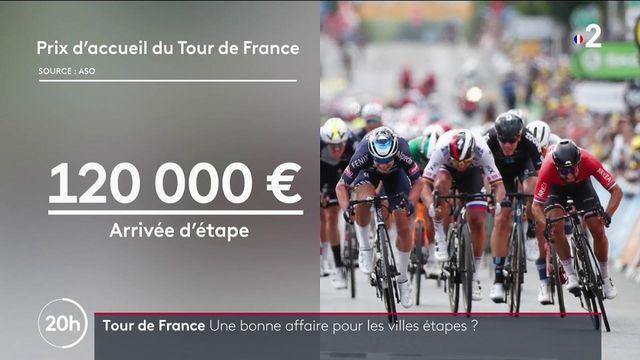 Tour de France : est-ce une bonne affaire pour les villes d'étapes ?