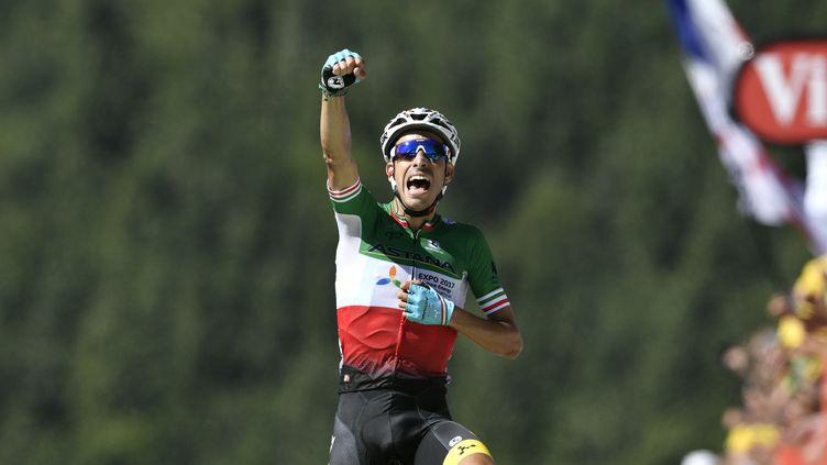 Fabio Aru (JEFF PACHOUD / AFP)