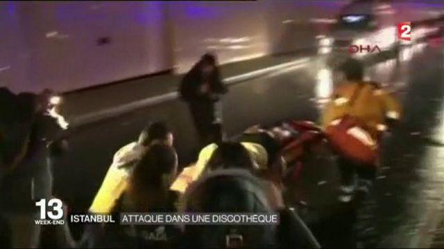 Turquie : attentat meurtrier dans une discothèque d'Istanbul