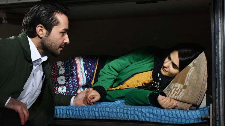 "Niroz Haji et Sherwan Haji dans ""De l'Autre côté de l'espoir"" d'Aki Kaurusmaki  (Sputnik Oy / Malla Hukkanen)"