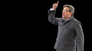 Jean-Luc Mélenchon a réagi à l'agrsssion de Théo, dimanche 12 février sur BFMTV. (CITIZENSIDE/DENIS THAUST / CITIZENSIDE)