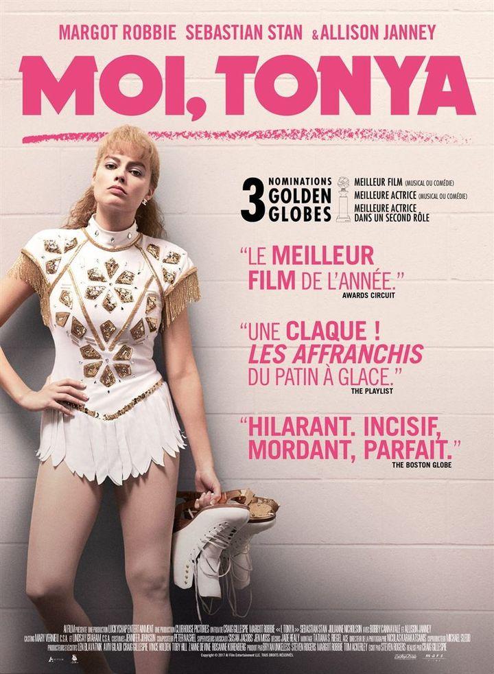 """""""Moi Tonya"""" : une des affiches françaises  (Mars Films)"""