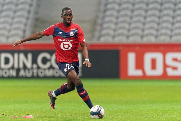 Boubakary Soumare s'engage à Leicester jusqu'en 2026. (SYLVAIN LEFEVRE / AFP)