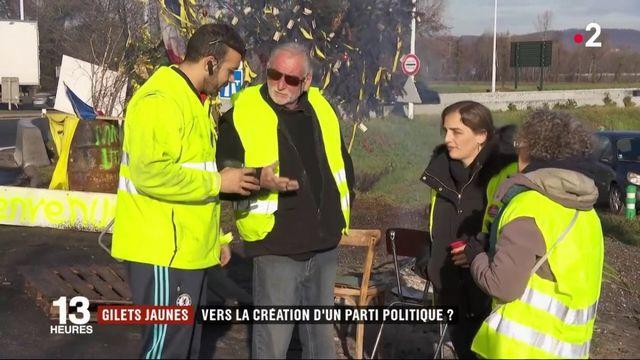 """""""Gilets jaunes"""" : vers la création d'un parti politique ?"""