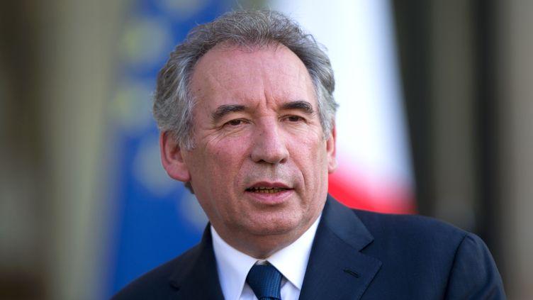 François Bayrou reçu à l'Elysée après les résultats du Brexit, le 25 juin 2016. (CITIZENSIDE / AFP)