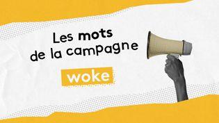 """Franceinfo se penche sur le mot """"woke"""". (ELLEN LOZON / FRANCE TELEVISIONS)"""