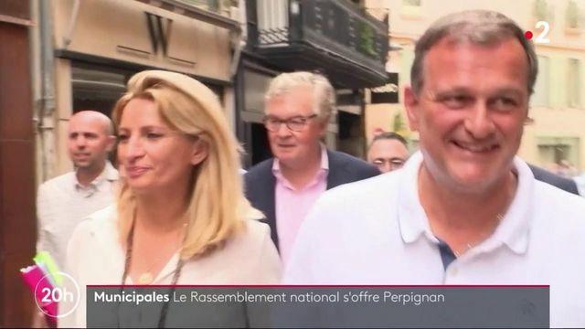 Municipales : victoire du Rassemblement national à Perpignan