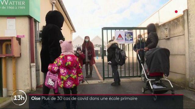 Covid-19 : 31 cas positifs dans une école primaire de l'Oise