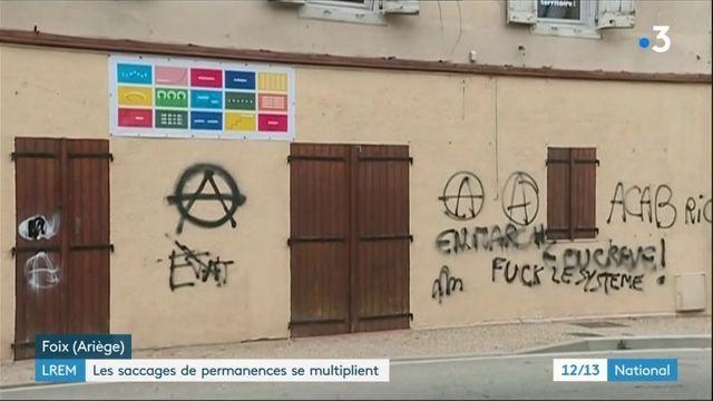 LREM : la permanence de Foix vandalisée pendant la nuit