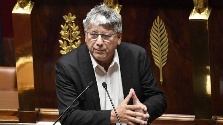 Eric Coquerel, le 12 octobre 2012, à l'Assemblée nationale. (BERTRAND GUAY / AFP)