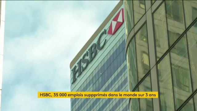 HSBC va se séparer de 35 000 employés