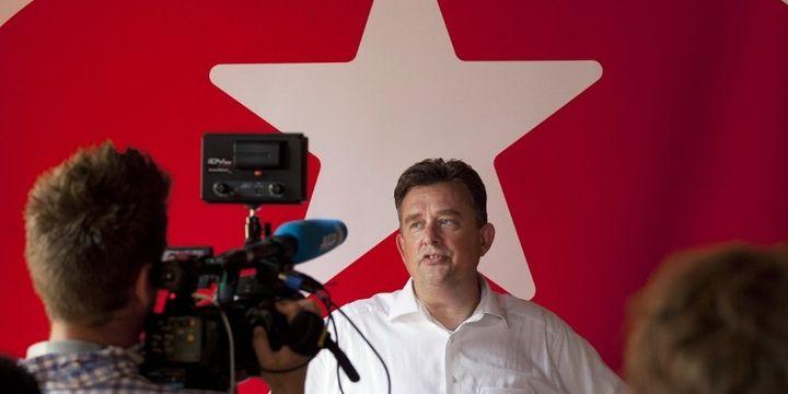 """Emile Roemer, le """"Mélenchon"""" néerlandais (PHIL NIJHUIS / ANP / AFP)"""