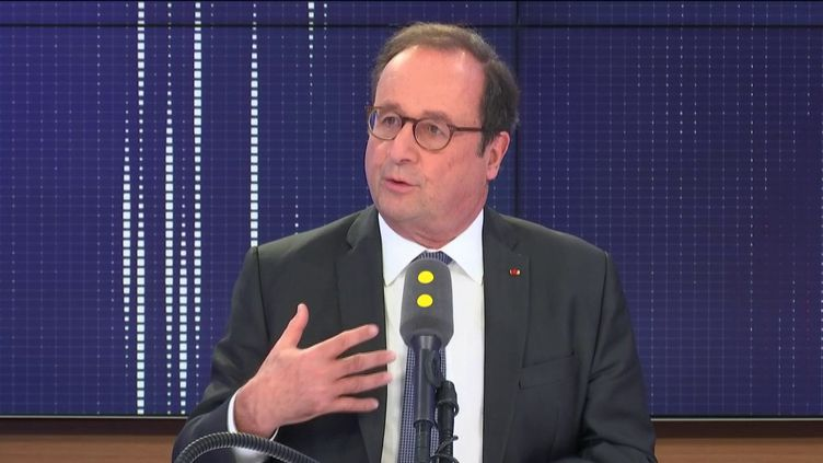 François Hollande le 23 octobre 2019. (FRANCEINFO / RADIO FRANCE)
