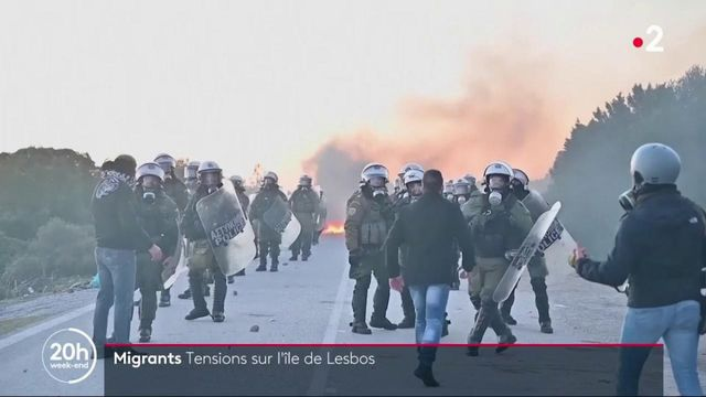 Migrants : des tensions apparaissent à Lesbos